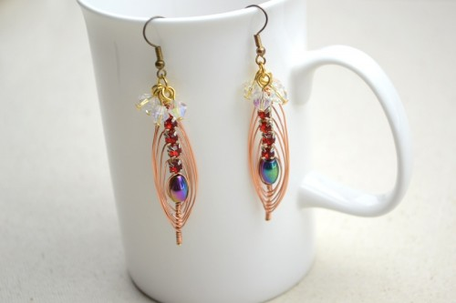 Cool Colorful Diy Beaded Earrings