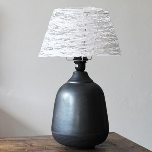cloudlike yarn lampshade (via shelterness)