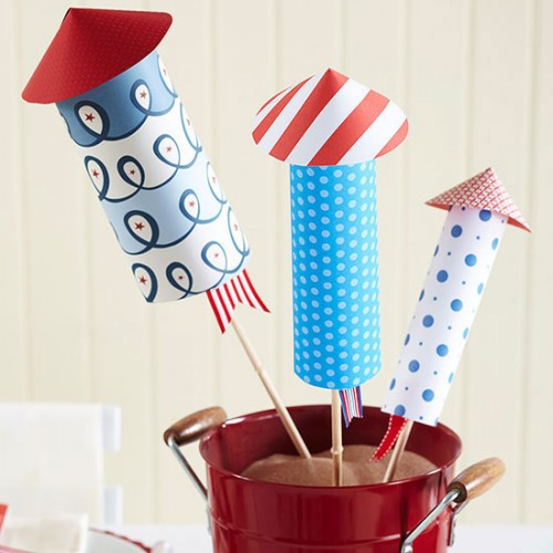 21 Cool Crafts For Your 4th July Party