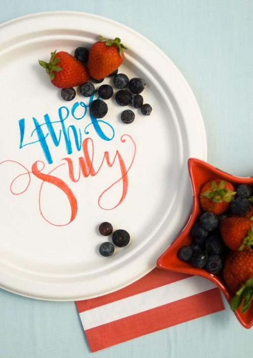 decorated paper plates (via confettisunshineblog)