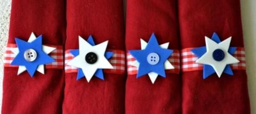 patriotic napkin rings (via shelterness)