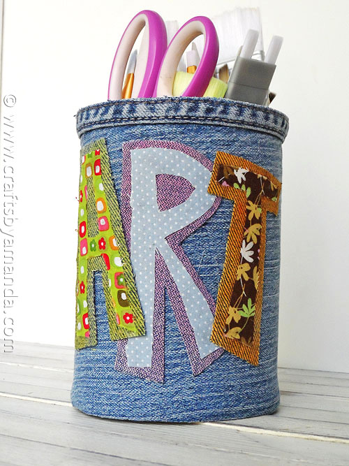 16 Cool Denim Crafts For You And Your Home