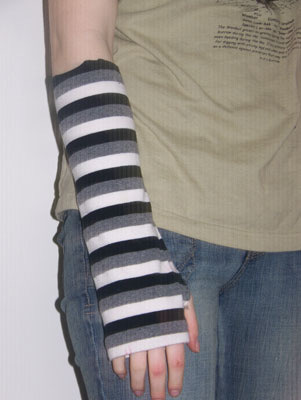 sleeve arm warmers (via diyfashion)