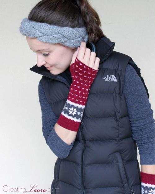 Cool DIY Arm Warmers Made Of Socks
