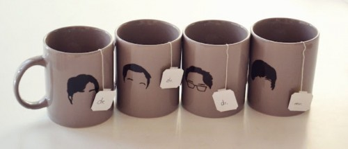 Cool DIY Big Bang Theory Mugs