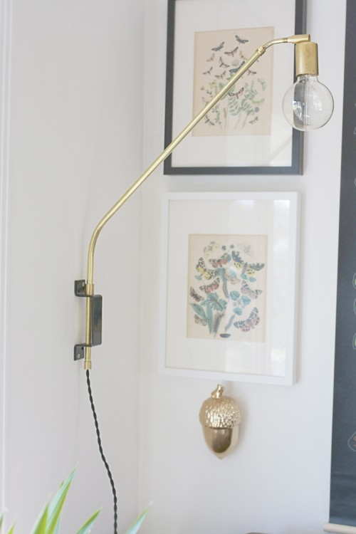 Cool Diy Wall Lamps : 8 Cool DIY Brass Pieces For Home Decor - Shelterness