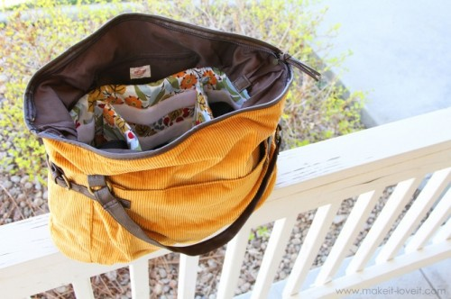 How To Turn A Purse Into A Padded Camera Bag (via makeit-loveit)