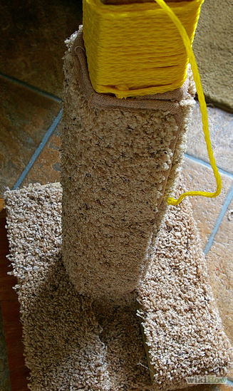 carpet scratcher (via wikihow)