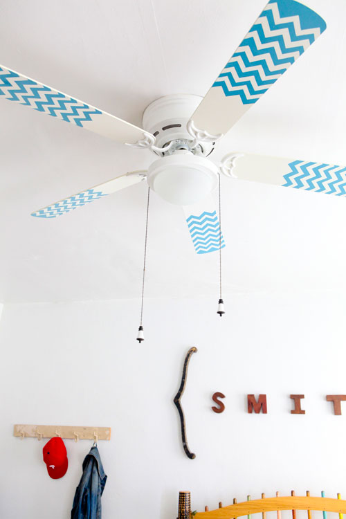 8 Cool DIY Ceiling Fan Makeovers
