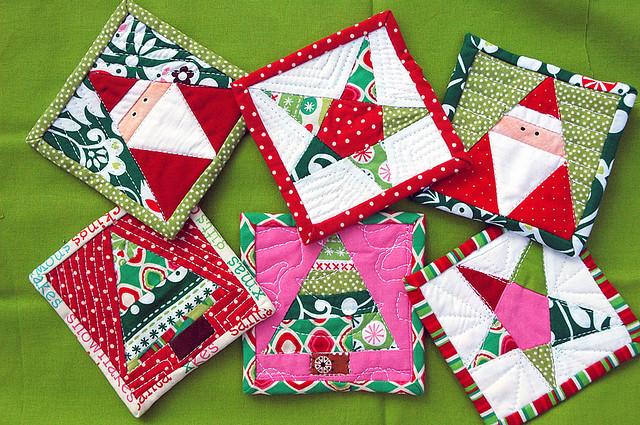 Cool Diy Christmas Coasters