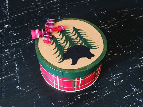 north woods gift box (via craftsbyamanda)
