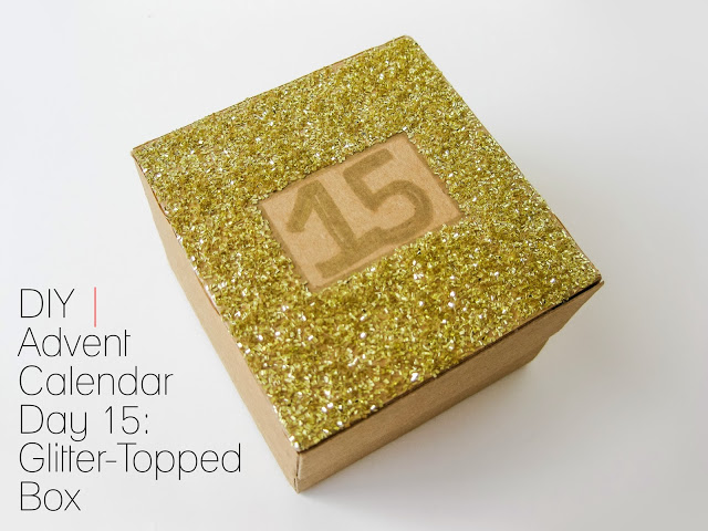 glitter top box