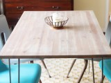 IKEA dining table makeover