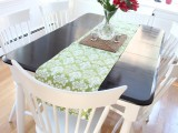 easy kitchen table makeover