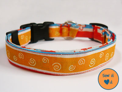 adjustable dog collar (via sew-it-love-it)