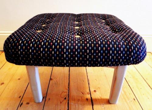 footstool renovation (via remadeit)