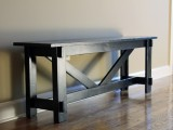 simple entry bench