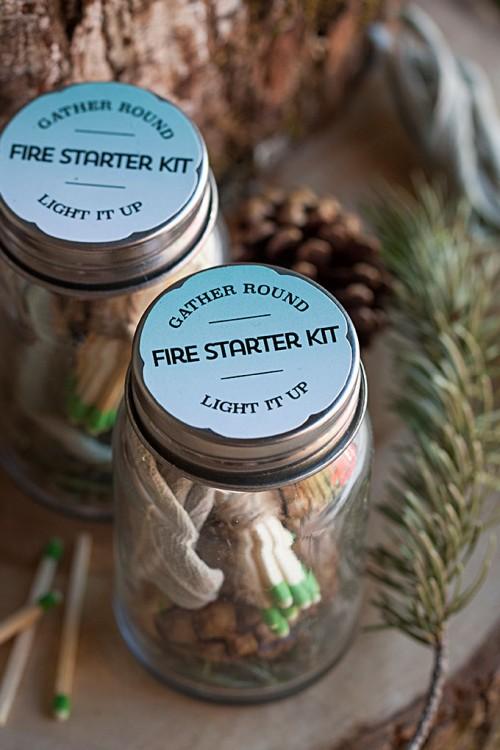 cool fire starter kit (via evermine)
