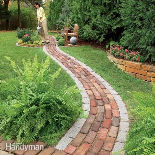 11 Cool DIY Garden Paths