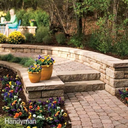 stone path with steps (via familyhandyman)