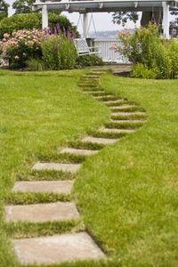 garden walking path