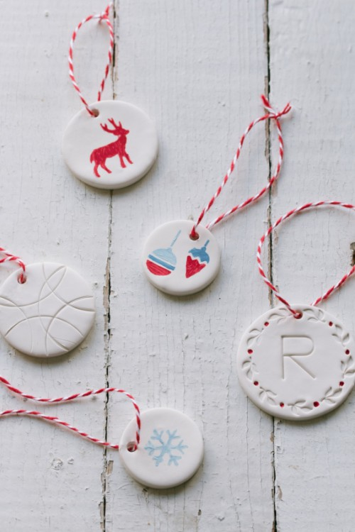 Cool DIY Gift Tags Or Ornaments From Clay