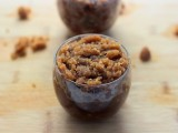 ginger snap cookie scrub