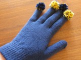 gloves with funny fingers