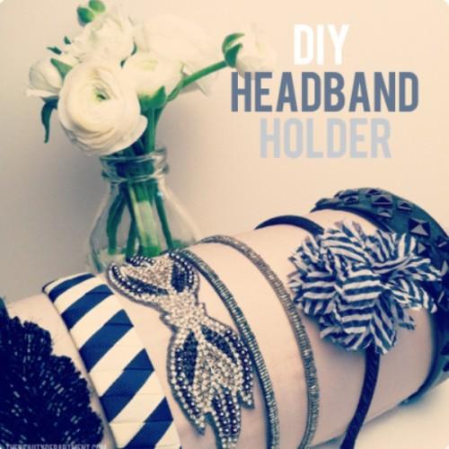 Cool DIY Headband Holder