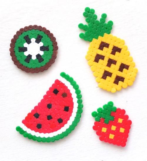 fun fruit key rings (via mypoppet)