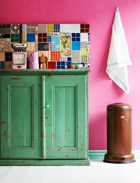8 cool diy kitchen backsplashes shelterness