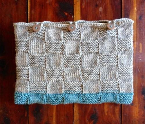 basket weave laptop sleeve (via handcraftedvintage)