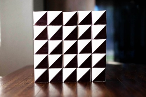 geometric advent calendar  (via allfortheboys)