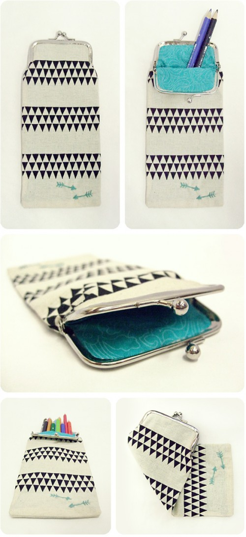 creative pencil purse (via voyagesofthecreativevariety)