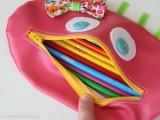 zipper mouth pencil case