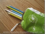 pencil scrappy pouch