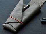 no sew leather pencil case