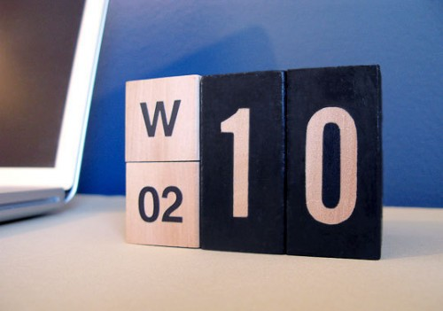 Cool Diy Perpetual Calendars  Shelterness
