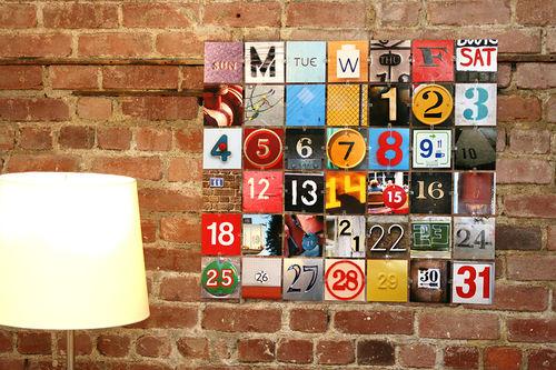 diy photo perpetual calendar