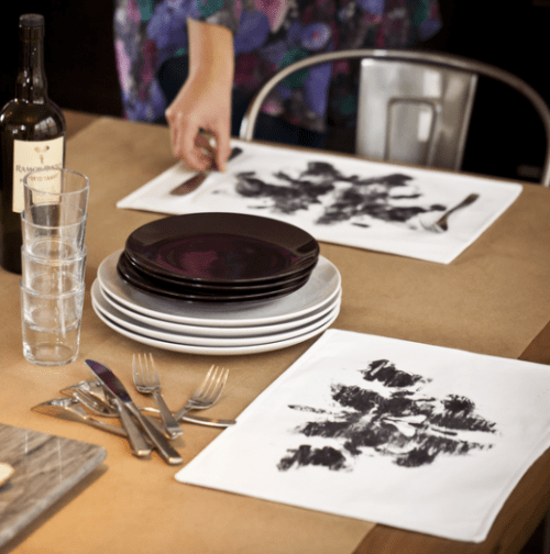 rorschach ink block placemat (via blog)