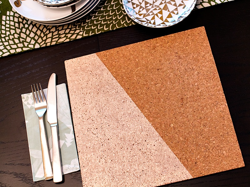 Picture Of Cork Placemats