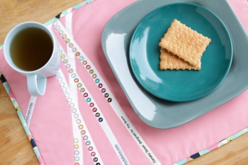 Carnaby crossing placemat (via patbravodesign)