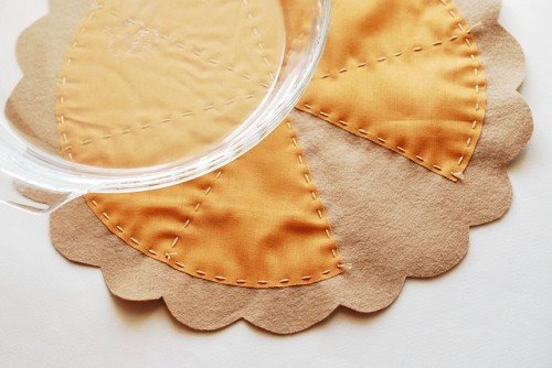 pumpkin pie placemat (via wildolive)