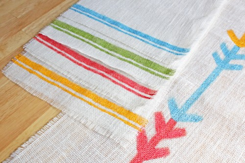 tribal placemats (via handsoccupied)