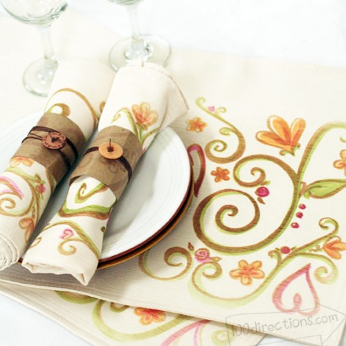 decoart placemat (via 100directions)