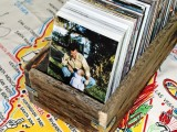 rustic pallet wood boxes