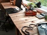 rustic pallets desk