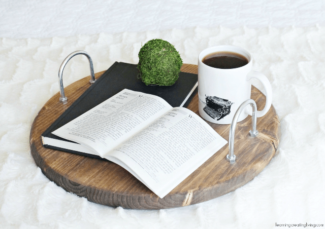 Cool Diy Stained Wooden Tray