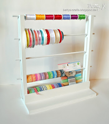 washi tape organizer (via bettys-crafts)