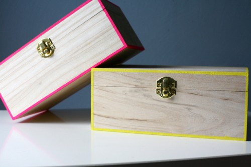 neon storage boxes (via caughtonawhim)